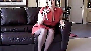 Annabelle undressing
