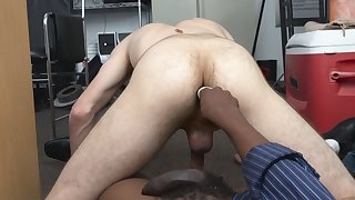 Flawless butt toned gay deep throat blowjob on big black cock adult site owner
