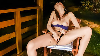 Gorgeous blowjob session by hot Ruka Ichinose