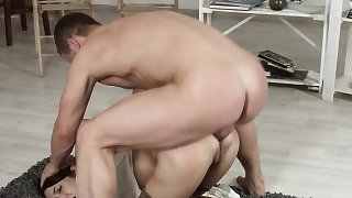Petite 19yo anally hardfucked by a huge cock