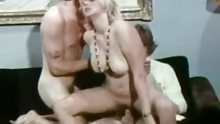 Crazy Homemade record with Blonde, Threesome scenes