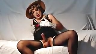 Best Homemade Shemale record with Stockings, Solo scenes