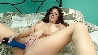 Fabulous pornstar Arianna Labarbara in exotic masturbation, big tits porn scene