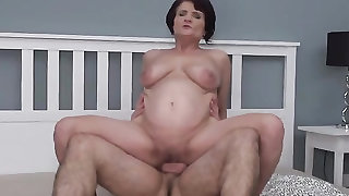 Granny is a cock eater and a sexy rider