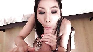 Sexy Lingerie Pov Blowjob Bareback