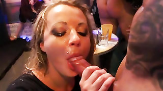 Pounding pussies and fucking mouths at a crazy party