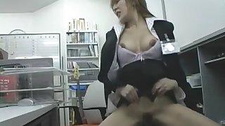 Incredible Japanese whore Mao Kaede, Rika Shibuya in Exotic Office JAV video