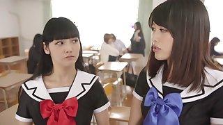 Incredible Japanese girl Miki Sunohara, Maya Kawamura, Rei Mizuna in Horny outdoor, college JAV clip