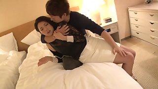 Incredible Japanese chick Marika in Fabulous threesomes JAV video