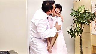 Incredible Japanese slut Yuu Shinoda, Arisa Nakano, Chika Arimura, Konoha in Crazy lingerie, stockings JAV scene