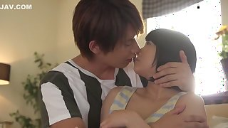 Crazy Japanese chick Remi Sasaki, Miku Abeno, Yuri Shinomiya in Horny college, couple JAV scene