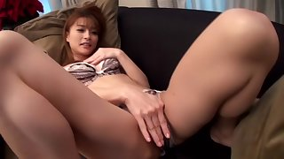 Exotic Japanese chick Aika Miura in Incredible JAV censored Fingering, Hairy clip