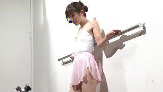 Megumi Shinoda in Leotard Rope Play 3 part 2.1