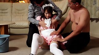 Saki Asahina in Maid Wife part 2.2