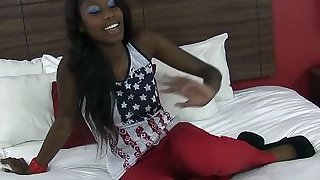 filthy ebony teenie and her fuckmate movie clip 1