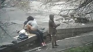 Public sex on the street