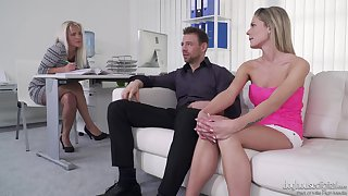 Claudia Macc, Kelly Anderson and Erik Everhard having a wild threeway