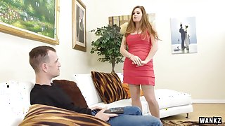 Thick Hot Blonde Allison Moore Takes a Pounding