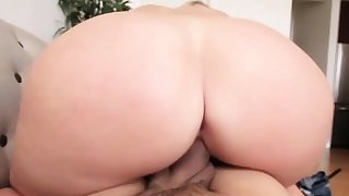 Sweet babe Melissa May craving for a monster cock