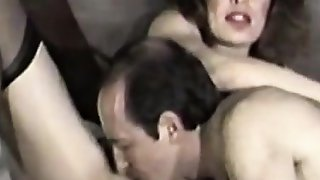 Amateur milf blowjob and rimming