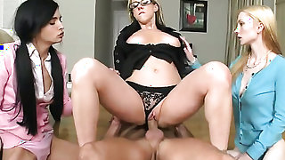 Blonde vixen Zoe Kush with huge hooters and smooth pussy