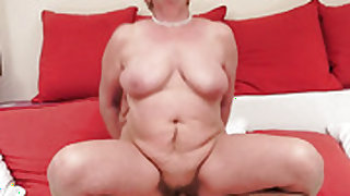 Redhead with big jugs cant wait to be