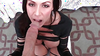 Brunette Kendra Lust just feels intense sexual desire