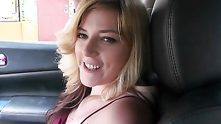 Blonde Lilly Ligotage has great cock sucking experience