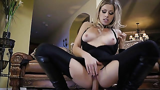 Michael Vegas gives slutty Zoey Monroes honeypot
