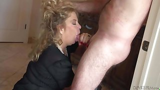 Granny Karen Summer gets banged from behind