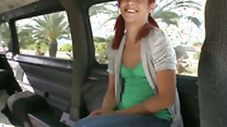 Redhead Sammy finds horny guy handsome